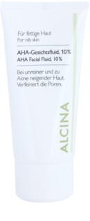 Alcina For Oily Skin arc fluid AHA savakkal 10 %