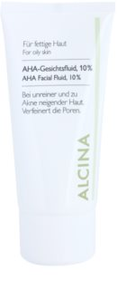 Alcina For Oily Skin lozione viso all'acido glicolico 10%