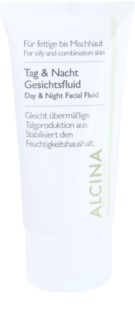 Alcina For Oily Skin Dag en Nacht Fluid voor de Regulatie van Talg