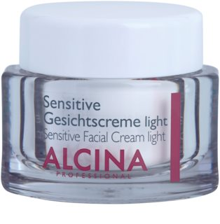 Alcina For Sensitive Skin creme facial suave para apaziguamento e reforçamento da pele sensível