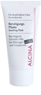 Alcina For Sensitive Skin máscara facial calmante com efeito instantâneo