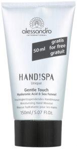 Alessandro Hand! Spa Unique Gentle Touch mousse hydratante mains