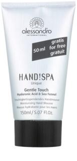 Alessandro Hand! Spa Unique Gentle Touch espuma hidratante para manos