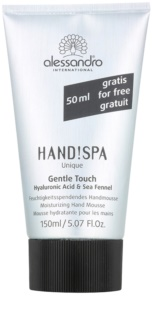 Alessandro Hand! Spa Unique Gentle Touch pianka nawilżająca do rąk