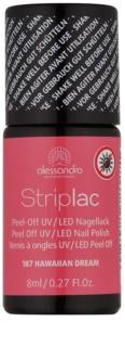 Alessandro Striplac Exfoliere UV / LED Lac de unghii