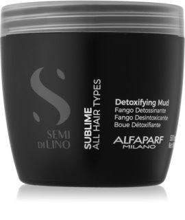 Alfaparf Milano Semi di Lino Sublime mască detoxifiantă pentru toate tipurile de par