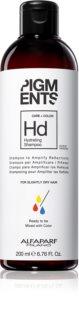 Alfaparf Milano Pigments hydratační šampon pro suché vlasy