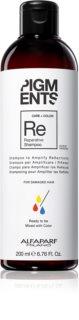 Alfaparf Milano Pigments šampon za jačanje oštećene kose za naglašavanje boje kose
