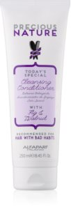 Alfaparf Milano Precious Nature Fig & Walnut Cleansing Conditioner For Hair Strengthening
