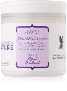 Alfaparf Milano Precious Nature Fig & Walnut Restructuring Hair Cream For Hair Strengthening