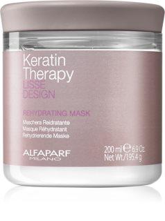 Alfaparf Milano Lisse Design Keratin Therapy επανυδατική μάσκα για όλους τους τύπους μαλλιών