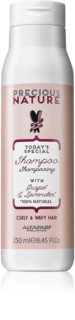 Alfaparf Milano Precious Nature Grape & Lavender Shampoo voor Krullend en Golvend Haar