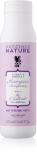 Alfaparf Milano Precious Nature Fig & Walnut Restructuring Shampoo For Hair Strengthening