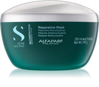 Alfaparf Milano Semi di Lino Reconstruction Reparative maska do włosów do włosów zniszczonych