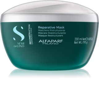 Alfaparf Milano Semi di Lino Reconstruction Reparative маска для волосся для пошкодженого волосся