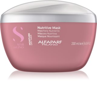 Alfaparf Milano Semi di Lino Moisture máscara para cabelo para cabelo seco