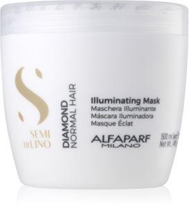 Alfaparf Milano Semi di Lino Diamond Illuminating Radiance Mask Sulfate and Paraben Free