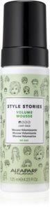 Alfaparf Milano Style Stories Volume Mousse Schaum für Haarvolumen