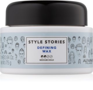 Alfaparf Milano Style Stories The Range Paste Texturising Wax - Paste Medium Firming
