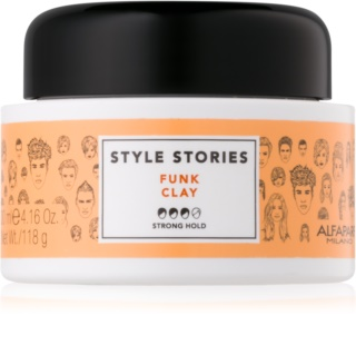 Alfaparf Milano Style Stories The Range Paste pâte matifiante fixation forte