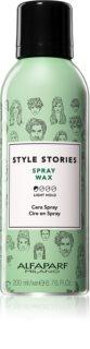 Alfaparf Milano Style Stories Spray Wax hajwax spray -ben