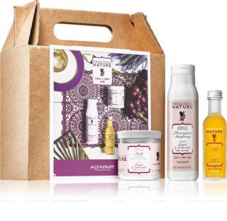 Alfaparf Milano Precious Nature Grape & Lavender kozmetički set (za valovitu i kovrčavu kosu)