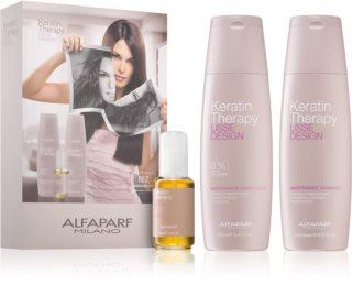 Alfaparf Milano Lisse Design Keratin Therapy Cosmetica Set  (voor Alle Haartypen )