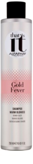 Alfaparf Milano That s it Gold Fever Shampoo For Warm Blonde