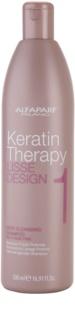 Alfaparf Milano Lisse Design Keratin Therapy szampon dogłębnie oczyszczający do wszystkich rodzajów włosów