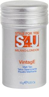 Alfaparf Milano Style for You (S4U) puder matujący medium