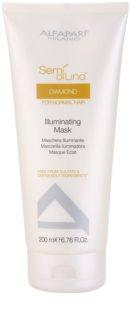 Alfaparf Milano Semí Dí Líno Diamante Illuminating Maske für glänzendes und geschmeidiges Haar