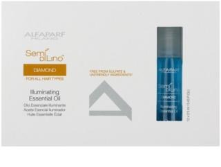 Alfaparf Milano Semi di Lino Diamond Illuminating óleo para dar brilho