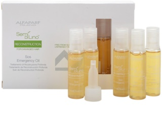 Alfaparf Milano Semí Dí Líno Reconstruction Regenerating Oil For Damaged Hair