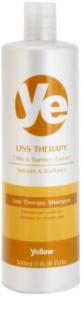 Alfaparf Milano Yellow Liss Therapy uhlazující šampon pro chemicky ošetřené vlasy