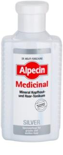 Alpecin Medicinal Silver tónico capilar neutraliza tons amarelados