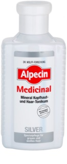 Alpecin Medicinal Silver Hair Tonic Neutralizes Yellow Tones