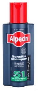 Alpecin Hair Energizer Sensitiv Shampoo S1 Hair Activating Shampoo For Sensitive Scalp