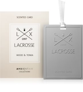 Ambientair Lacrosse Wood & Tonka aроматизатор за гардероб