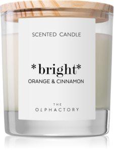 Ambientair Olphactory Orange & Cinnamon bougie parfumée (Bright)