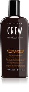 American Crew Hair & Body Power Cleanser Style Remover очищуючий шампунь для щоденного використання