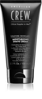 American Crew Shave & Beard Moisturizing Shave Cream hidratáló borotválkozó krém normál és száraz bőrre
