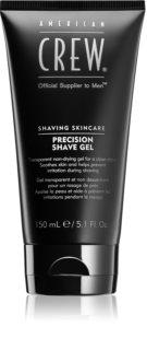 American Crew Shave & Beard Precision Shave Gel borotválkozási gél az érzékeny arcbőrre