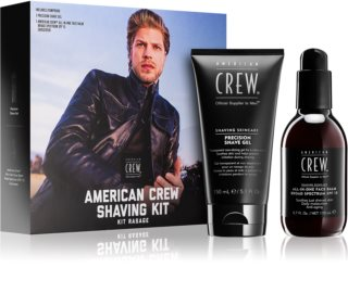 American Crew Shave & Beard Shaving Kit kozmetički set