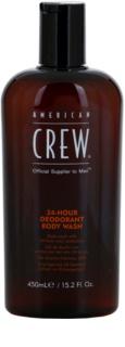 American Crew 24 Hour Gel de dus cu efect de deodorante 24 de ore