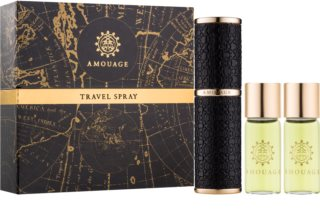 Amouage Memoir parfumovaná voda pre mužov 3 x 10 ks (1x plniteľná + 2x náplň)