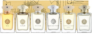 Amouage Miniatures Bottles Collection Men lote de regalo II. Gold, Dia, Ciel, Reflection, Jubilation 25, Beloved