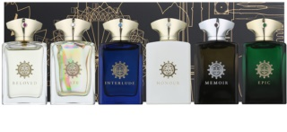 Amouage Miniatures Bottles Collection Men lote de regalo III Lyric, Epic, Memoir, Honour, Interlude, Fate