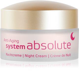 ANNEMARIE BÖRLIND System Absolute - System Anti - Aging regenerujący krem na noc przeciw oznakom starzenia