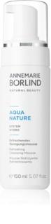 ANNEMARIE BÖRLIND AquaNature - System Hydro erfrischender Reinigungsschaum