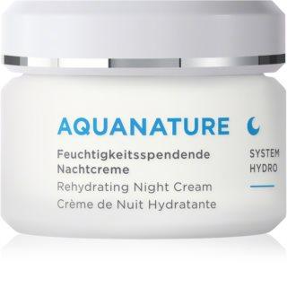 ANNEMARIE BÖRLIND AquaNature - System Hydro nawilżający krem na noc